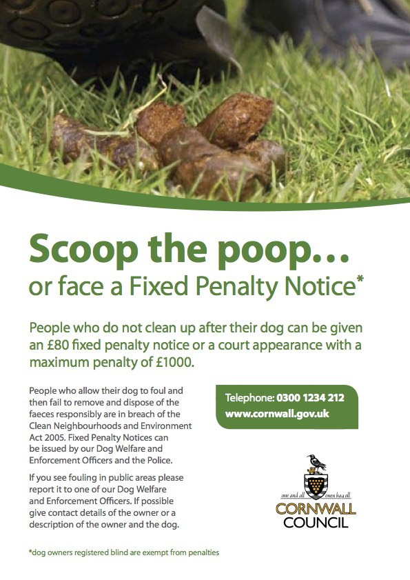 Fixed Penalty Notice - Dog Poo